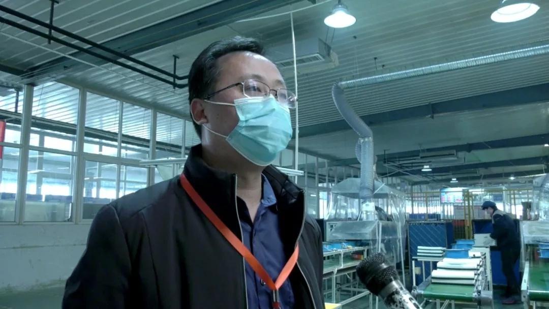 县科技和工业信息化局副局长梁宗兵