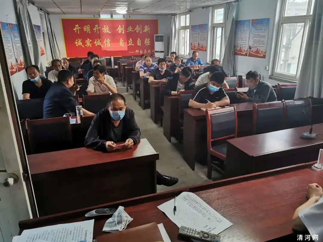 邢台县白岸乡5月份网络辟谣活动