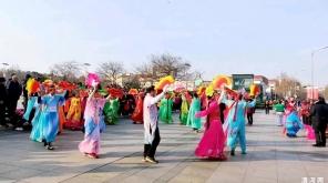清河民间舞蹈:花棍、秧歌