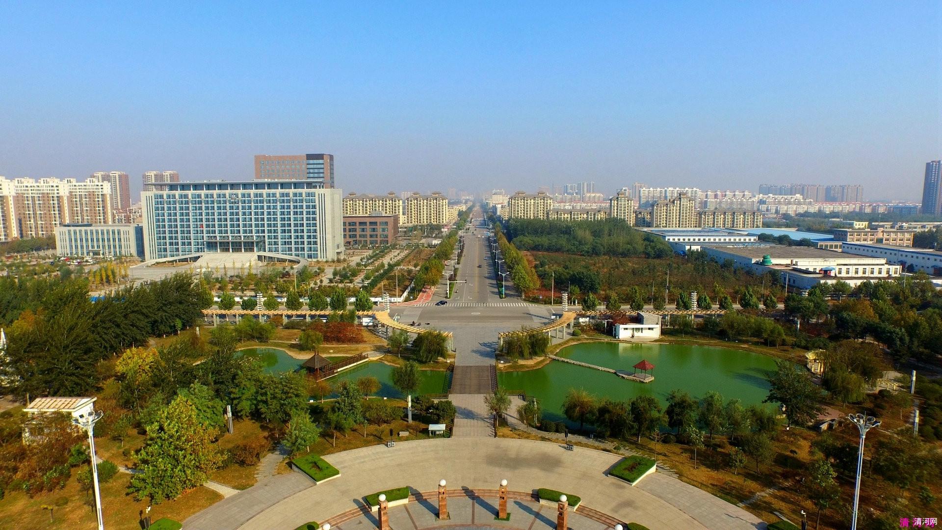 高清美图:清河县新世纪广场