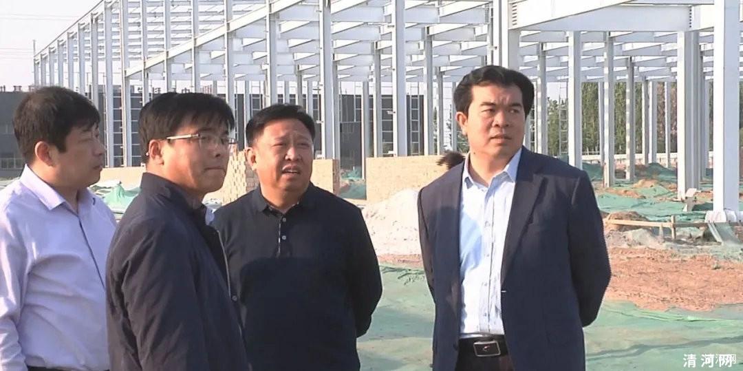 王俊红督导高三、初三学校复学工作及项目建设情况