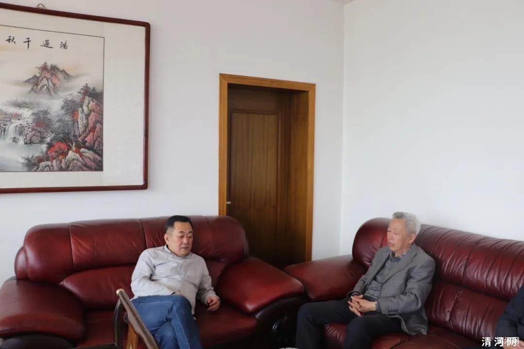 县慈善总会副秘书长刘学磊走访爱心企业
