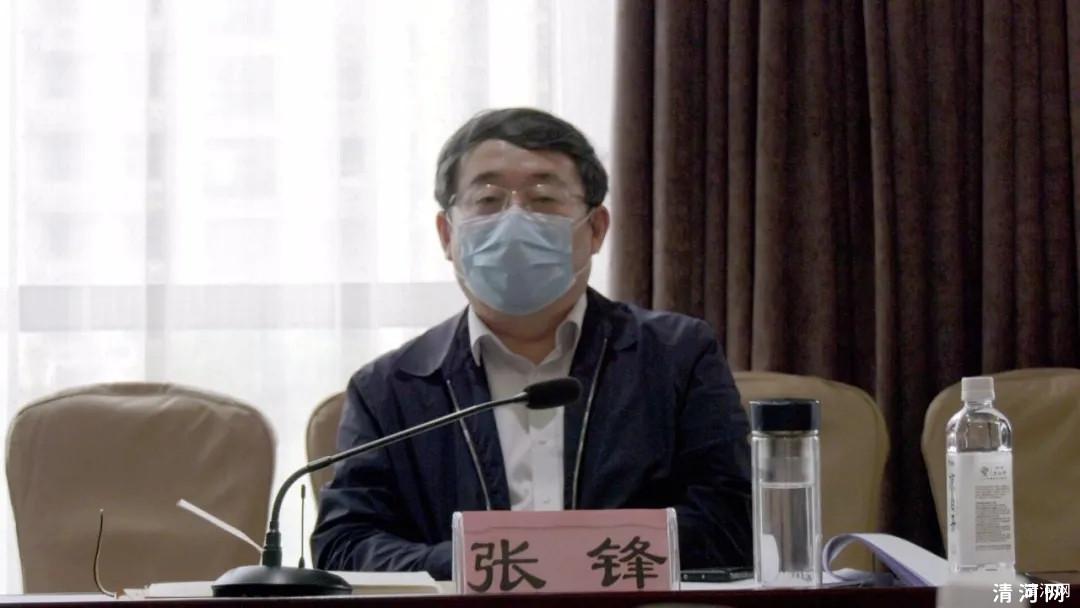 省商务厅党组书记张锋来清河调研
