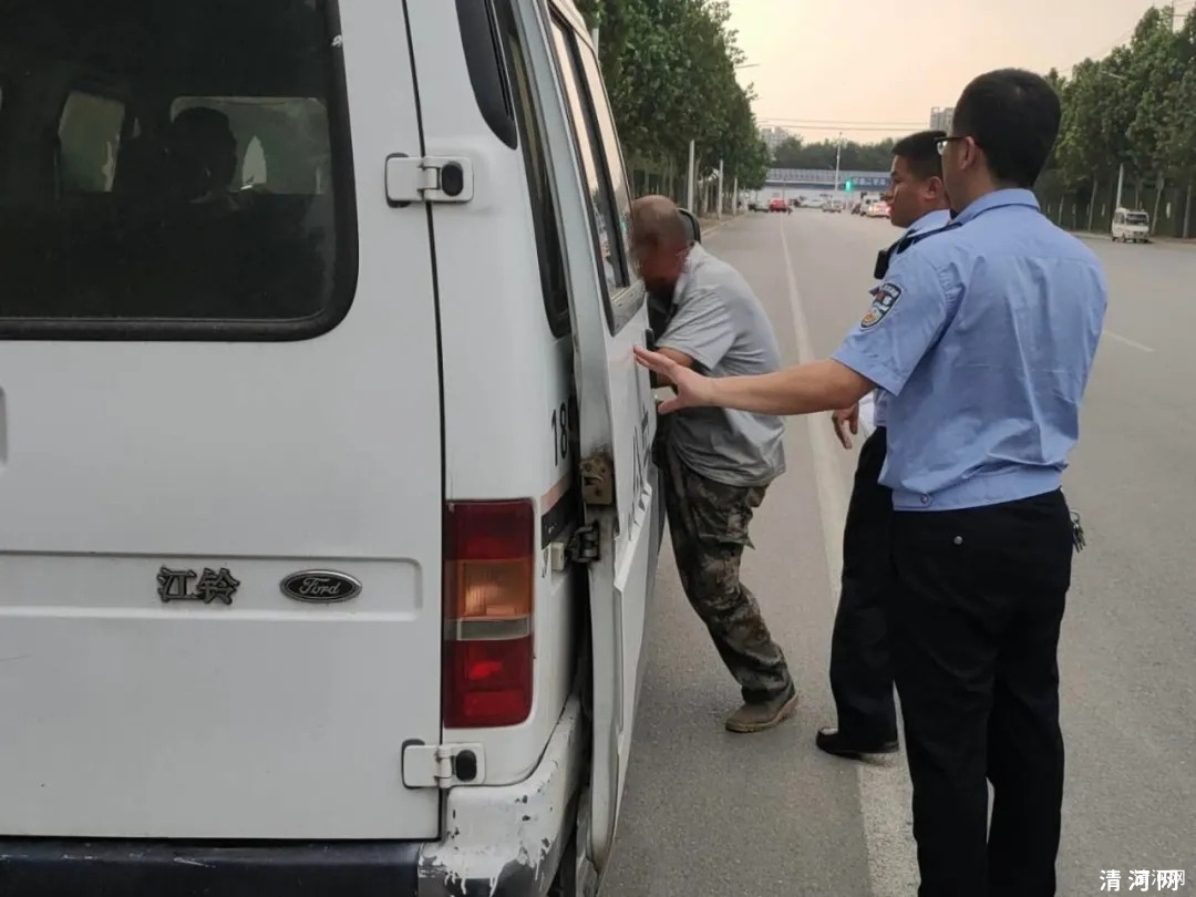 清河张某在黄河街与华山路交叉口附近蓄意点燃秸秆被拘留五日!